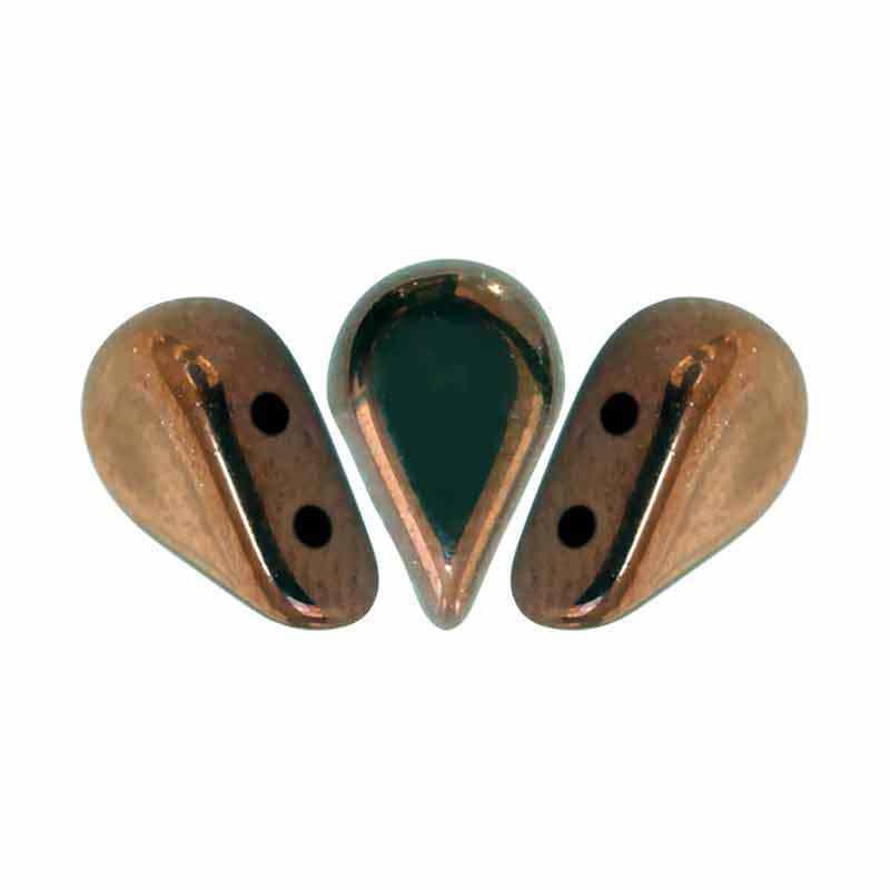 Dark Bronze - Amos® par Puca® pärlor