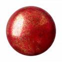 Opaque Coral Red Bronze 18mm Cabochonid par Puca®
