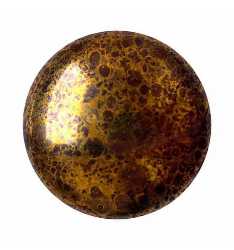 18mm Opaque Dark Choco Bronze Cabochons par Puca®