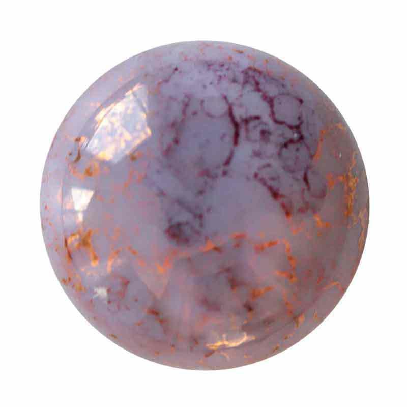 18mm Opaque Light Amethyst Bronze Cabochonit par Puca®
