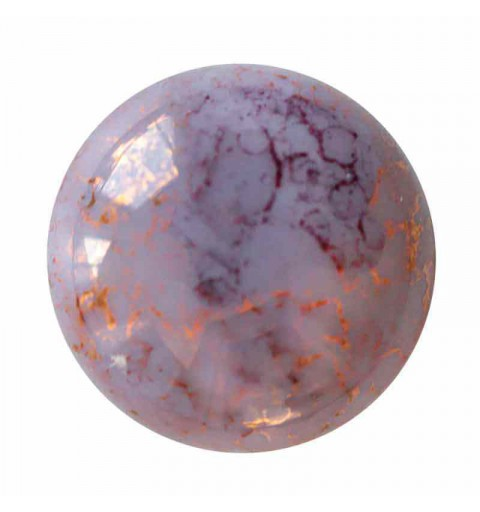 25mm Opaque Light Amethyst Bronze Cabochonid par Puca®