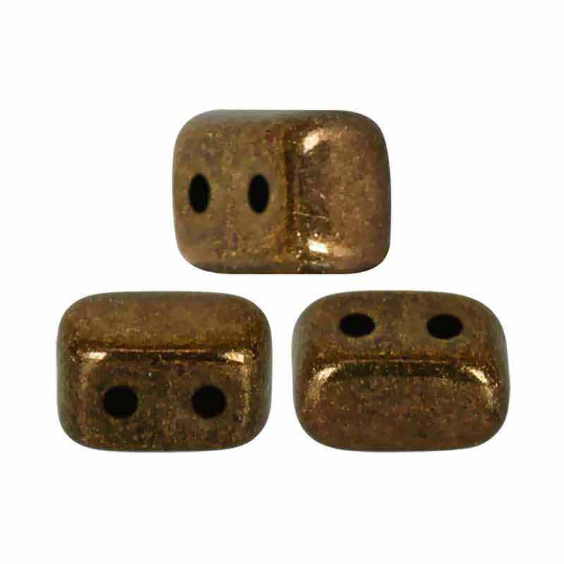 Dark Gold Bronze - Ios® par Puca® beads