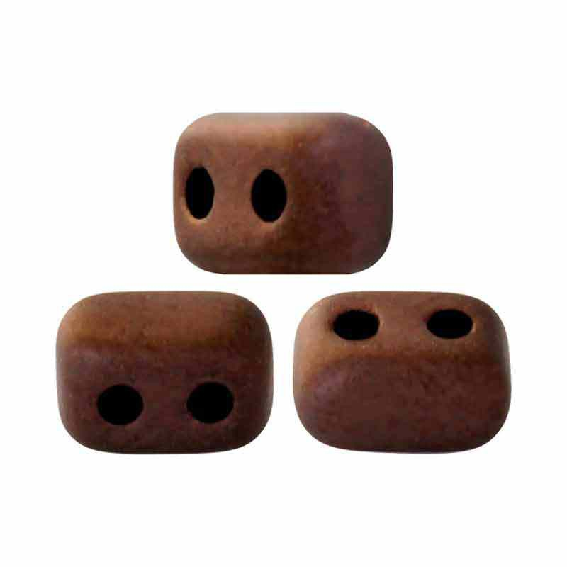 Dark Bronze Mat - Ios® par Puca® pärlor