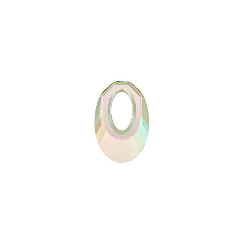 30MM Crystal Luminous Green (001 LUMG) Helios Pendants 6040 SWAROVSKI ELEMENTS