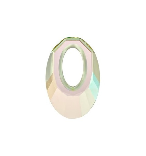 30MM Crystal Luminous Green (001 LUMG) Helios Pendants 6040 SWAROVSKI ELEMENTS
