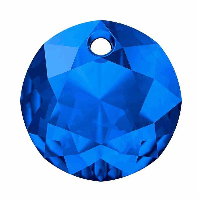 14MM Sapphire Classic Cut Pendant 6430 SWAROVSKI