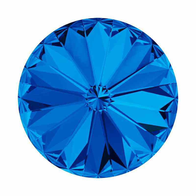 SS47(~10.7mm) Sapphire F 1122 XIRIUS Rivoli SWAROVSKI Crystals