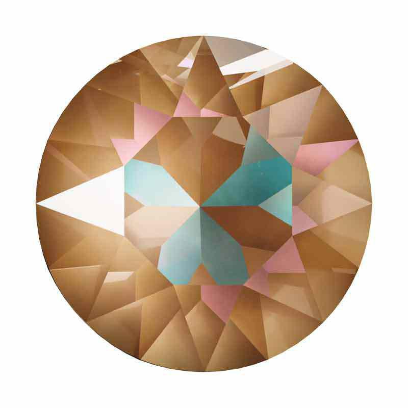 SS39 (~8.25mm) Crystal Cappuccino DeLite 1088 XIRIUS Chaton SWAROVSKI