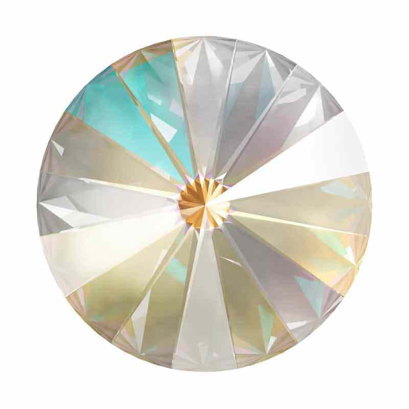 12MM Crystal Light Grey DeLite 1122 Rivoli SWAROVSKI