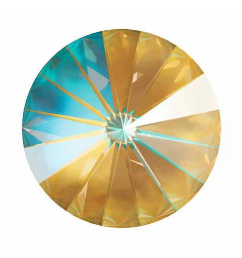 14MM Crystal Ochre DeLite 1122 Rivoli SWAROVSKI