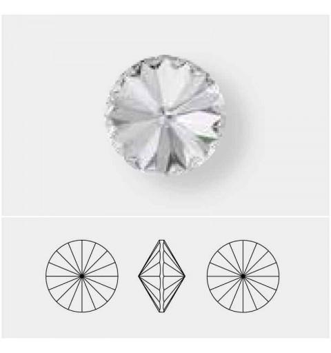 14MM Crystal Light Grey DeLite 1122 Rivoli SWAROVSKI