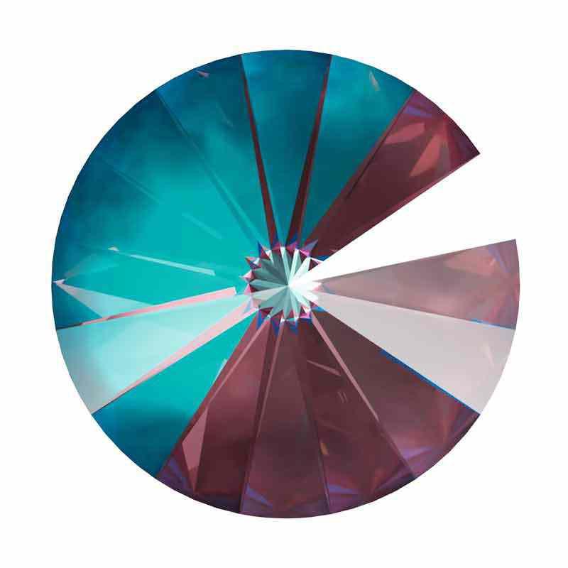 14MM Crystal Burgundy DeLite 1122 Rivoli SWAROVSKI
