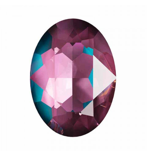 14x10mm Crystal Burgundy DeLite Oval Ehete Kristall 4120 Swarovski Elements