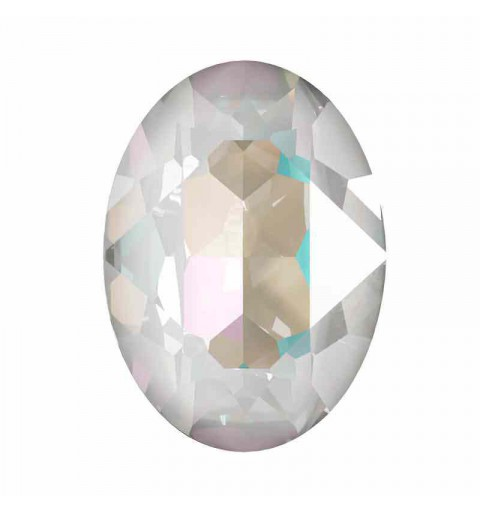 14x10mm Crystal Light Grey DeLite Oval Ehete Kristall 4120 Swarovski