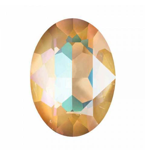 14x10mm Crystal Ochre DeLite Oval Ehete Kristall 4120 Swarovski