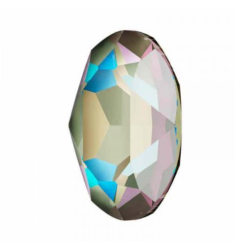 18x13mm Crystal Army Green DeLite Oval Fancy Stone 4120 Swarovski Elements