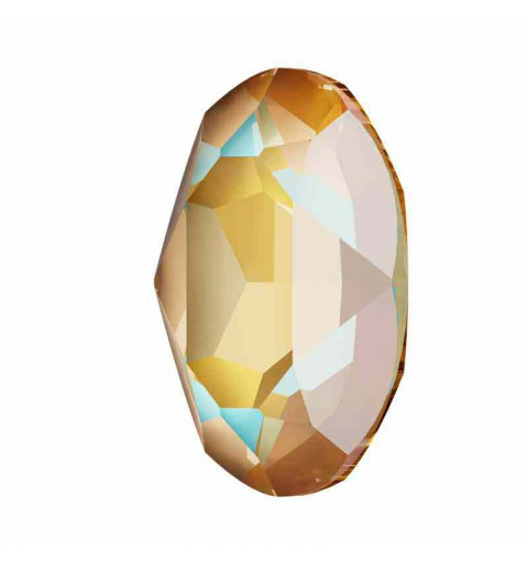 18x13mm Crystal Cappuccino DeLite Oval Fancy Stone 4120 Swarovski