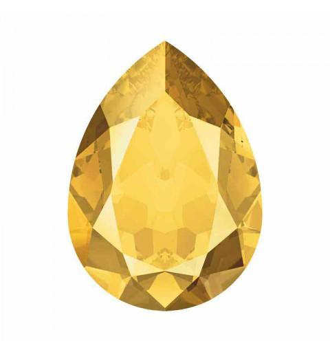 18x13mm Crystal Metallic Sunshine F Pirnikujuline Ehete Kristall 4320 Swarovski