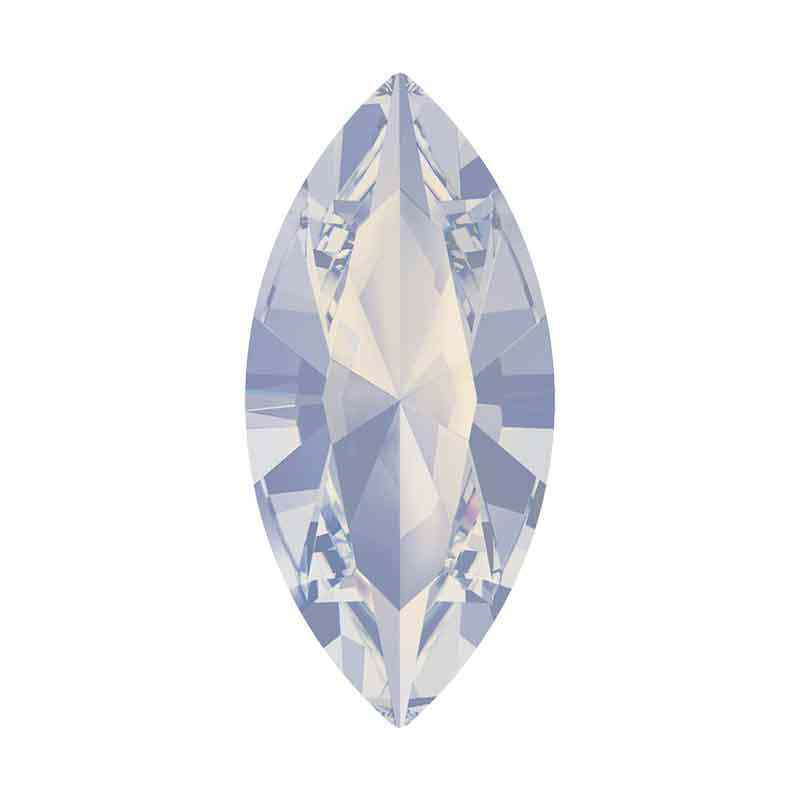 10x5mm White Opal F XILION Navette Fancy Stone 4228 Swarovski Crystals