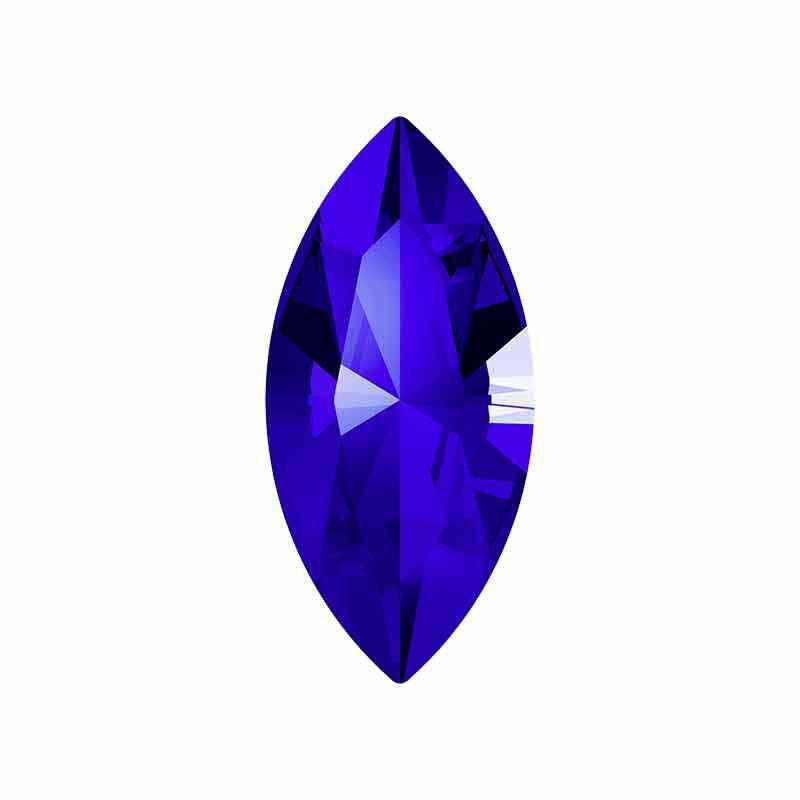 10x5mm Majestic Blue F XILION Navette Fancy Stone 4228 Swarovski Crystals
