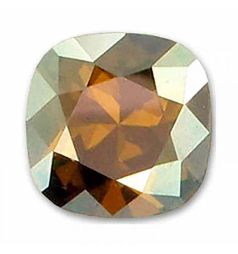10mm Crystal Bronze Shade F Padjakujuline Ruudune Ehte Kristall 4470 Swarovski