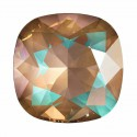 10mm Crystal Cappuccino DeLite Cushion Square Fancy Stone 4470 Swarovski