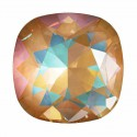10mm Crystal Ochre DeLite Cushion Square Fancy Stone 4470 Swarovski