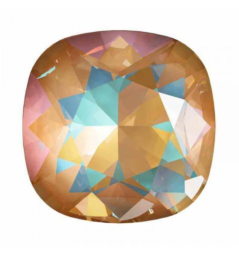 10mm Crystal Ochre DeLite Padjakujuline Ruudune Ehte Kristall 4470 Swarovski