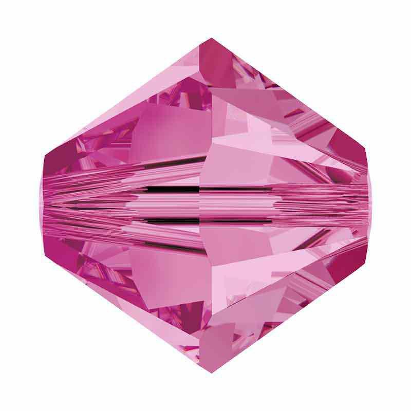3MM Rose 5328 XILION Bi-Cone Perles SWAROVSKI