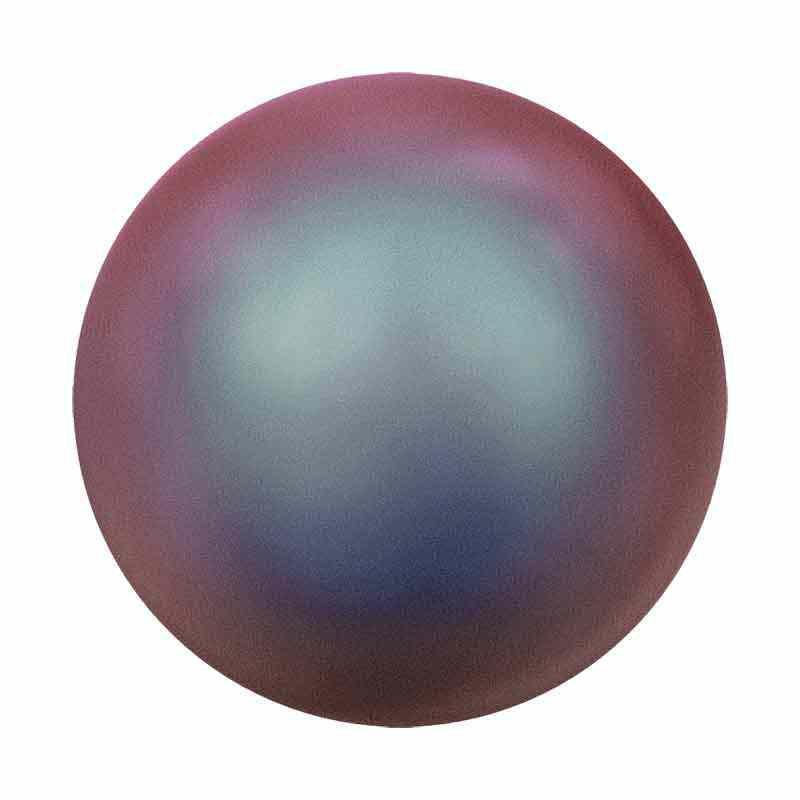 2MM Crystal Iridescent Red Pearl 5810 SWAROVSKI
