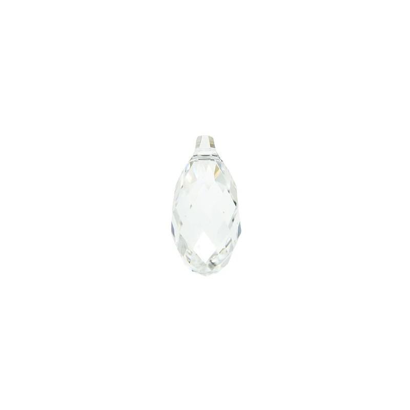 17x8.5MM Crystal (001) Briolette Pendants 6010 SWAROVSKI ELEMENTS
