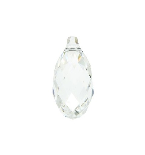 17x8.5MM Crystal (001) Briolette Pendants 6010 SWAROVSKI ELEMENTS