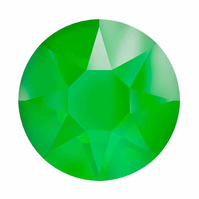 2078 SS20 Crystal Electric Green HFT SWAROVSKI Rhinestones