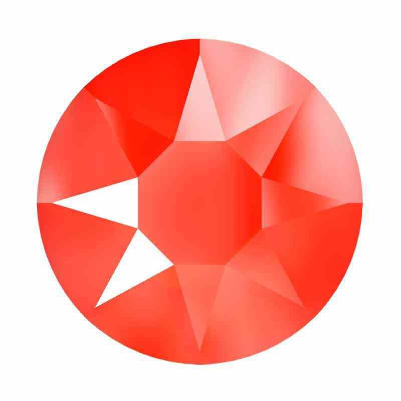 2078 SS20 Crystal Electric Orange HFT SWAROVSKI Strassit