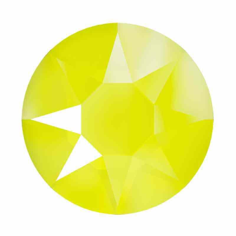 2078 SS16 Cristal Electric Yellow HFT SWAROVSKI Strass