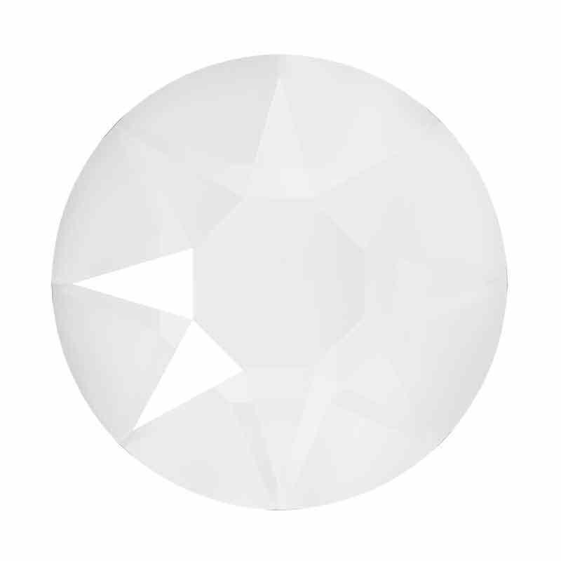 2078 SS34 Crystal Electric White HFT SWAROVSKI Rhinestones