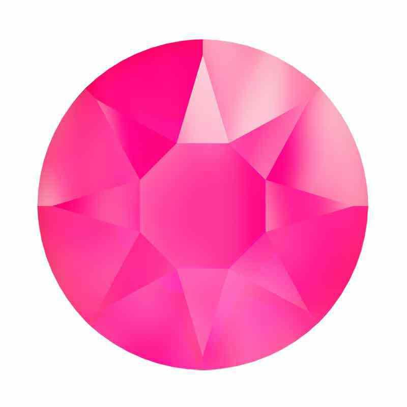 2078 SS34 Crystal Electric Pink HFT SWAROVSKI Rhinestones