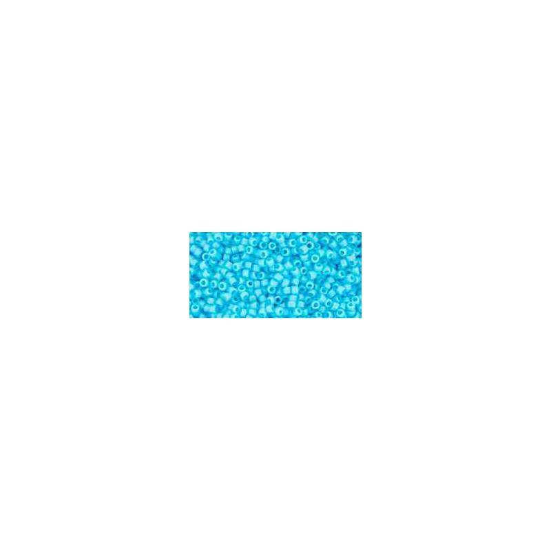 TR-15-43 Opaque Blue Turquoise TOHO Seemnehelmed