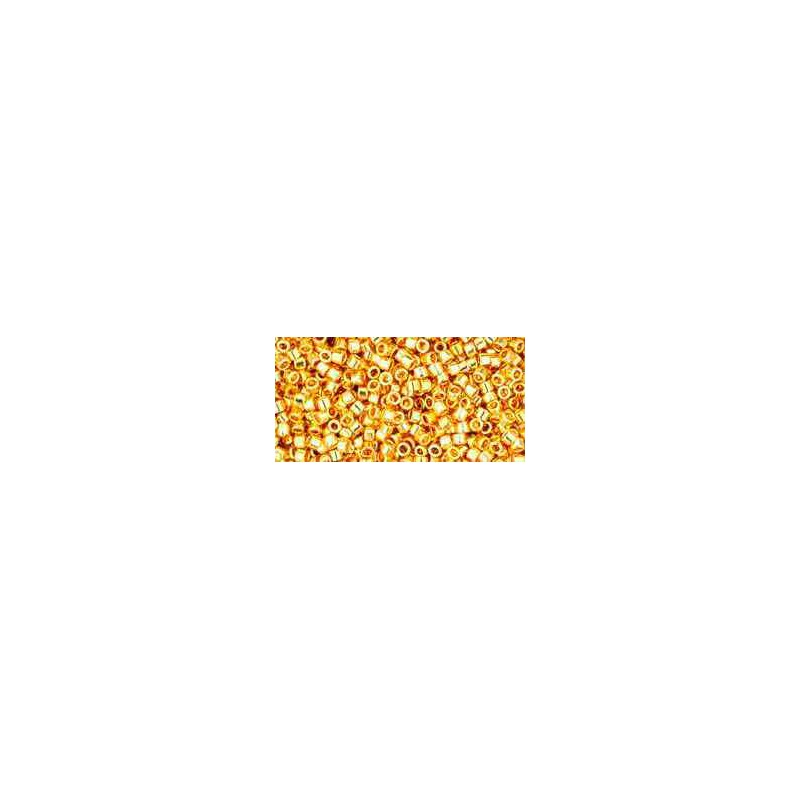 TT-01-712 Metallic 24K Gold Plated TOHO Treasures Seed Beads
