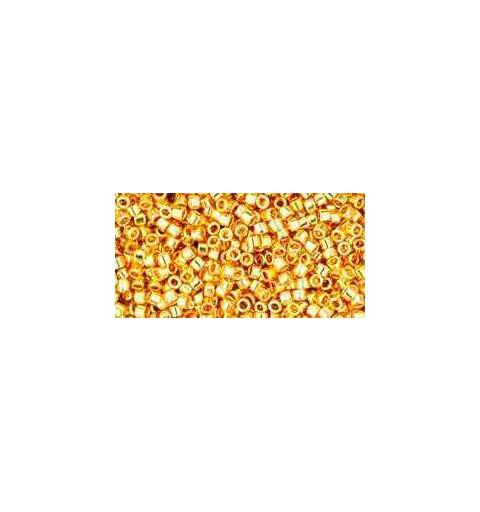 TT-01-712 Metallic 24K Gold Plated TOHO Treasures Seemnehelmed