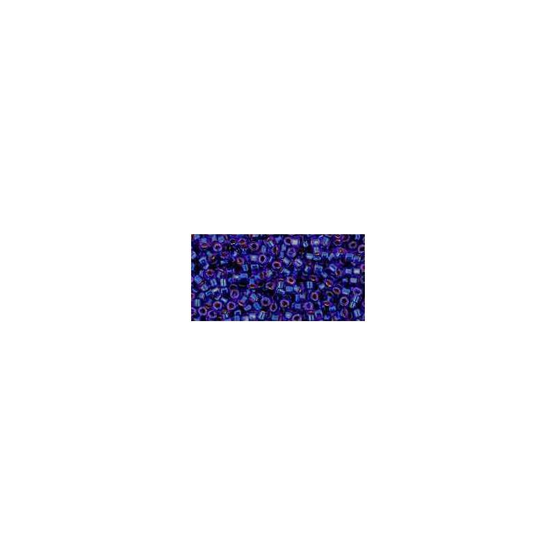 TT-01-743 Copper-Lined Dark Sapphire TOHO Treasures de Rocailles
