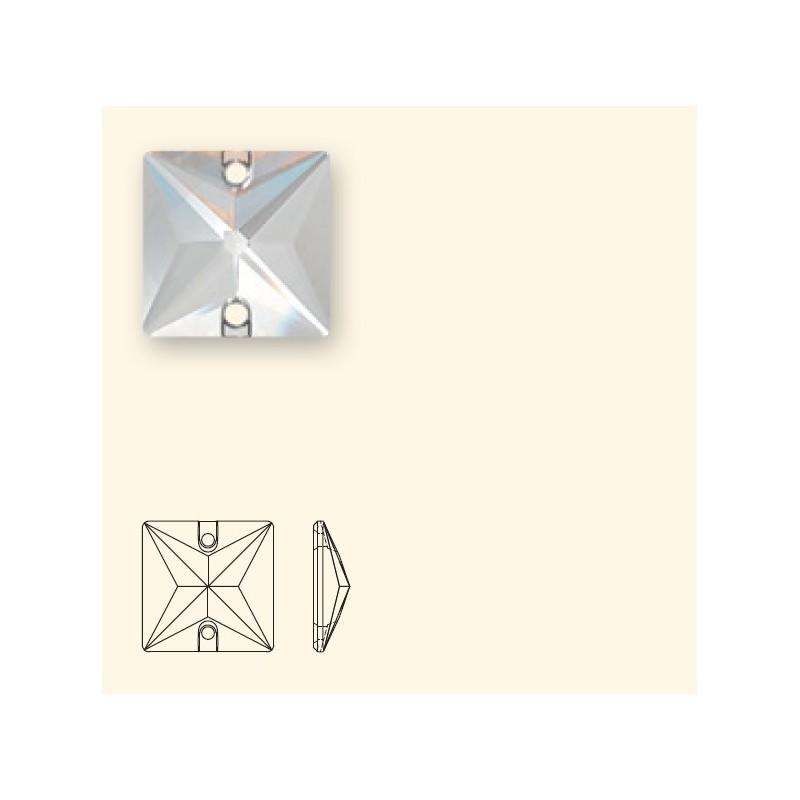 16MM Jet Hematite (280 HEM) 3240 Square SWAROVSKI ELEMENTS