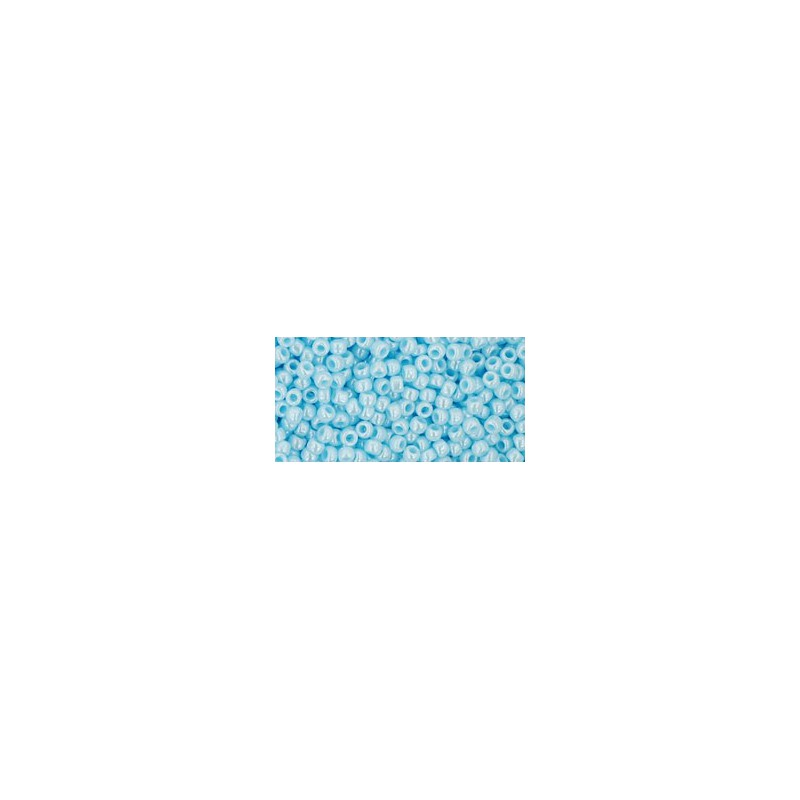 TR-11-124 OPAQUE-LUSTERED PALE BLUE TOHO HELMED