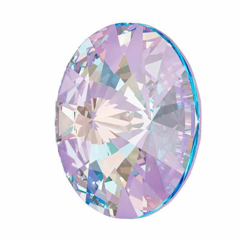 14MM Crystal Lavender DeLite 1122 Rivoli SWAROVSKI