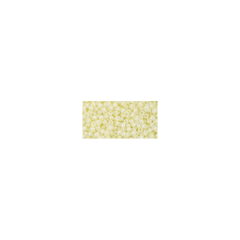TR-11-142 CEYLON BANANA CREAM SEED BEADS