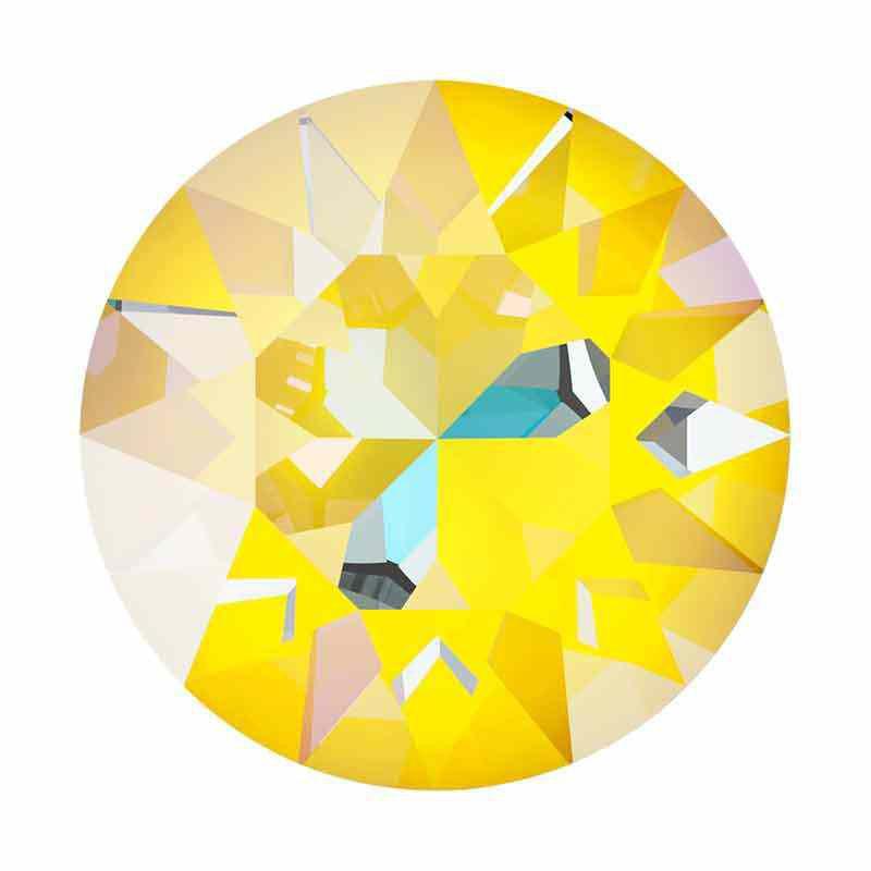 SS39 (~8.25mm) Crystal Sunshine DeLite 1088 XIRIUS Chaton SWAROVSKI