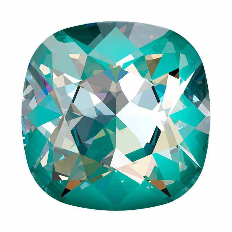 10mm Crystal Laguna DeLite Cushion Square Fancy Stone 4470 Swarovski