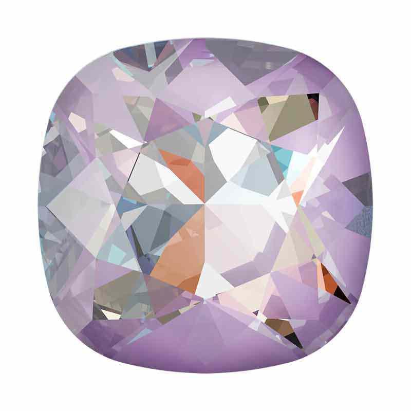 12mm Crystal Lavender DeLite Подушкообразный Квадратный Кристалл 4470 Swarovski