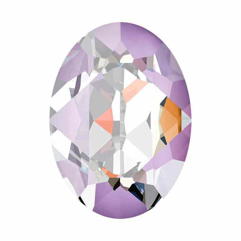 14x10mm Lavender DeLite Oval Fancy Stone 4120 Swarovski