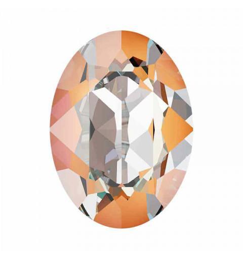 14x10mm Peach DeLite Oval Ehete Kristall 4120 Swarovski